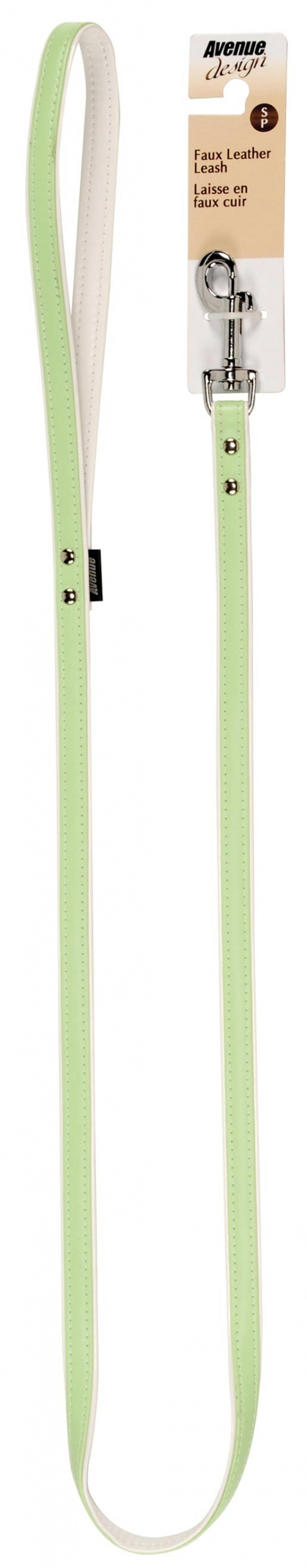 Vodítko AVENUE Elegance zelené 110 x 1,4 cm