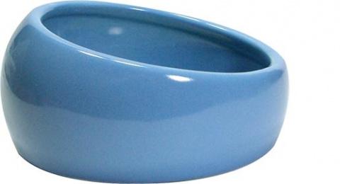 Miska LIVING WORLD ergonomická L modrá