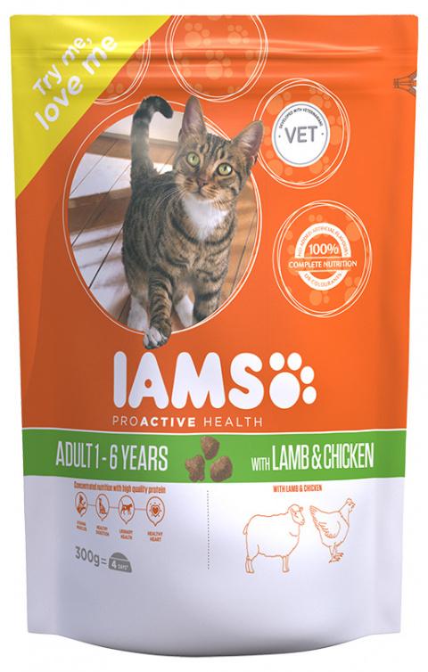 Iams Cat Adult Lamb 0.3kg
