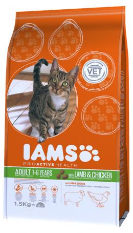 Iams Cat Adult Lamb 1,5kg