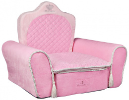 Pelíšek pro psy Trixie My Princess trůn 55*44*40cm růžová