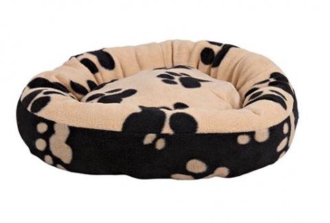 Pelíšek pro psy Trixie Sammy černo-béžová 70cm