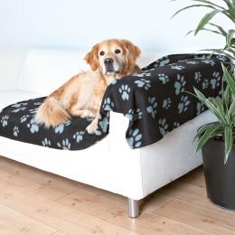 Deka pro psy Trixie Barney 150cm černo-šedá