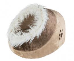 Pelíšek pro psy Trixie Minou béžovo-hnědá 35*26*41cm