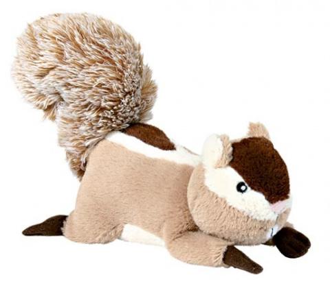 Hračka pro psy Trixie plyšová veverka se zvukem 24cm