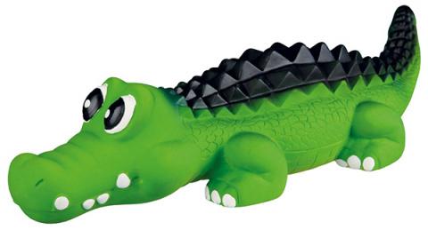 Hračka pro psy Trixie latexová krokodýl se zvukem 35cm