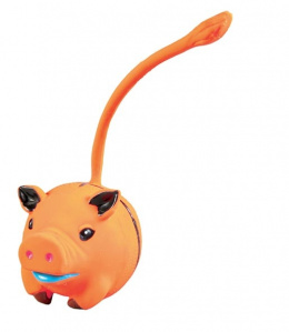 Hračka pro psy Trixie míček s dlouhým ocasem mix 6cm