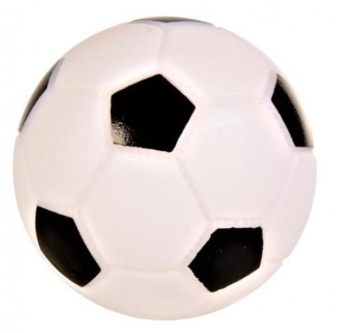Hračka pro psy Trixie fotbalový míček vinylový se zvukem 6cm