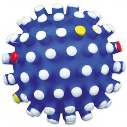 Hračka pro psy Trixie míček vinylový s bodlinami se zvukem 10cm