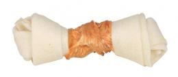 Žvýkací uzel pro psy Trixie Denta Fun s kuřecím masem 11cm*70g 2ks