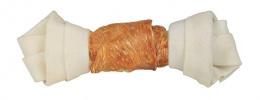 Žvýkací uzel pro psy Trixie Denta Fun s kuřecím masem 15cm*70g