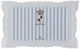 Podložka pod misky My Princess Trixie 44*28cm šedo-bílá