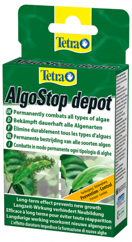 TETRA Algo Stop Depot 12tablet