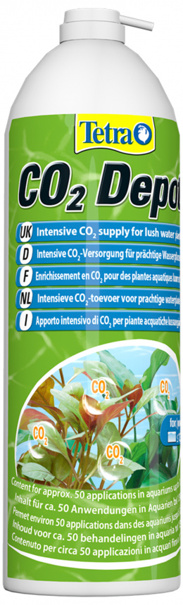 TETRA CO2 Depot náhradní láhev
