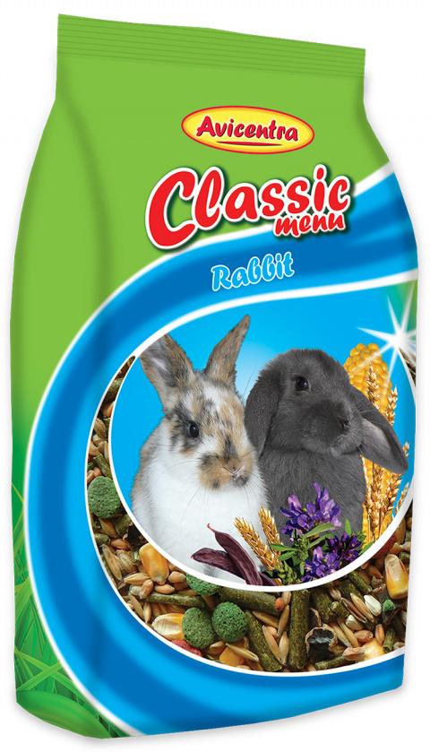Krmivo AVICENTRA standart pro králíky 1kg title=