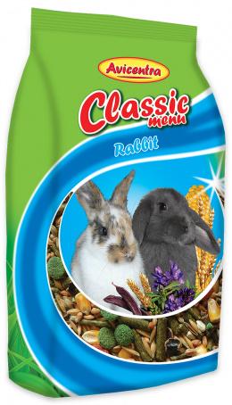 Krmivo AVICENTRA standart pro králíky 1kg