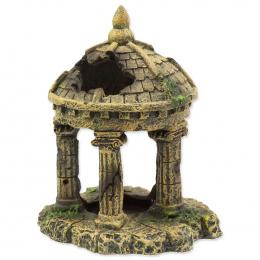 Dekorace Aqua Excellent zřícenina hradu 10,4cm