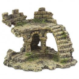 Dekorace Aqua Excellent zřícenina hradu 13cm