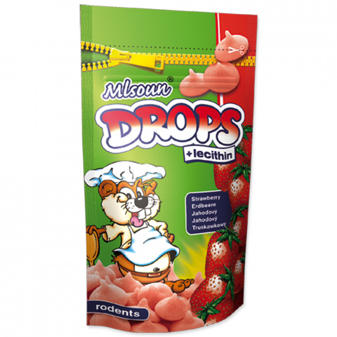 Dropsy DAFIKO jahodové 75g