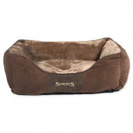 Pelíšek SCRUFFS Chester Box Bed čokoládový 60cm