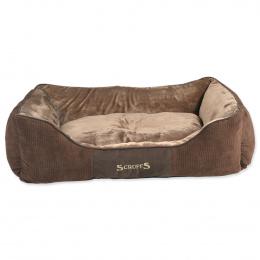 Pelíšek SCRUFFS Chester Box Bed čokoládový 90cm
