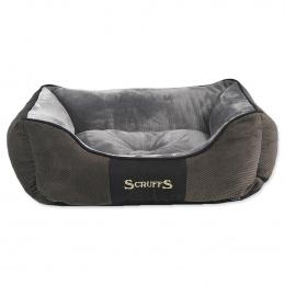 Pelíšek SCRUFFS Chester Box Bed šedý 50cm