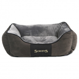 Pelíšek SCRUFFS Chester Box Bed šedý 50cm