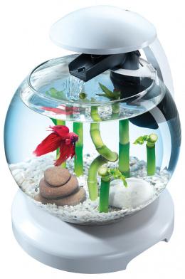 Akvárium set Tetra Cascade LED 6,8l bílá