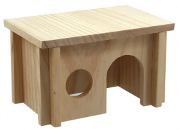 Domek SA dřevěný hladký