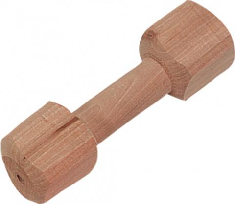 Hračka FLAMINGO činka dřevěná 20 cm