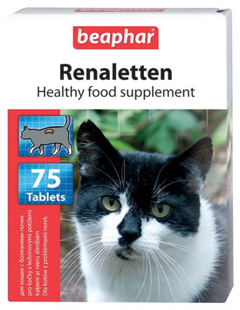 Beaphar Renaletten 75 tablet title=