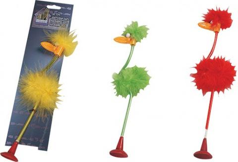 Hračka FLAMINGO pták na přísavce