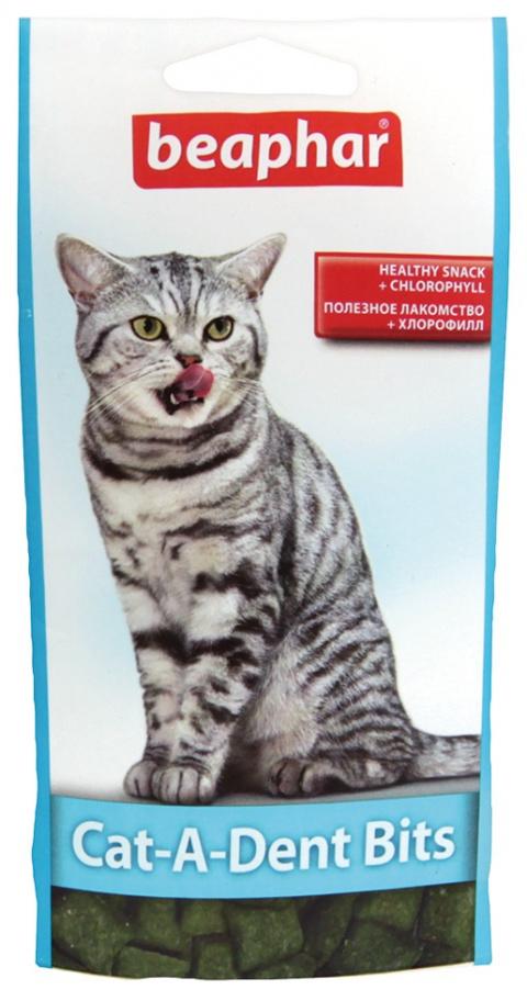 Pochoutka péče o zuby Beaphar Cat-A-Dent Bits 35g