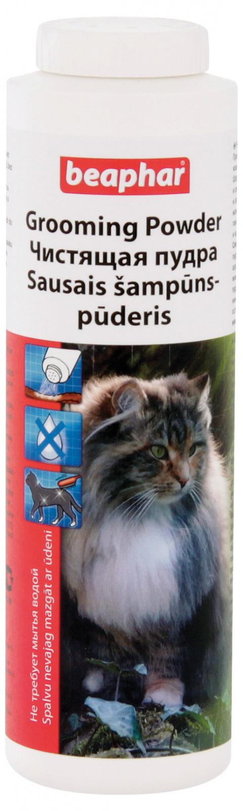 Suchý šampon pro kočky Beaphar Grooming Powder 150 g