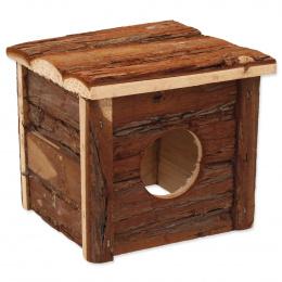 Domek Small Animals s kůrou 15,5x15,5x14cm