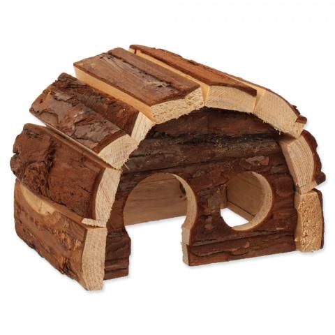 Domek Small Animal Hobit dřevěný 15x10x9cm
