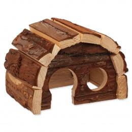 Domek Small Animals Hobit dřevěný 15cm