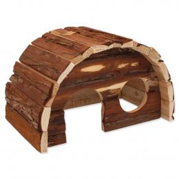 Domek Small Animals Hobit dřevěný 25cm