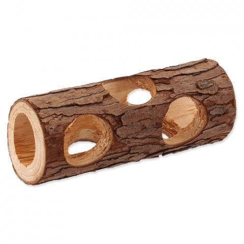 Úkryt SMALL ANIMAL Kmen stromu dřevěný 5 x 15 cm