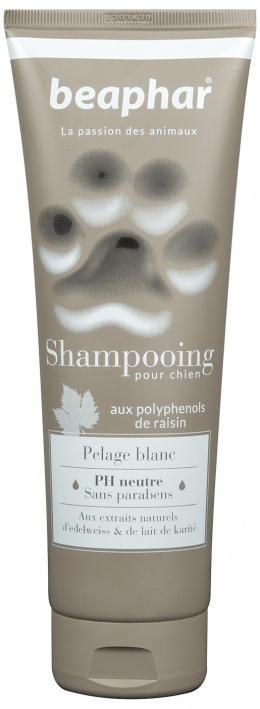 Šampon pro bílou srst Beaphar Shampooing 250 ml