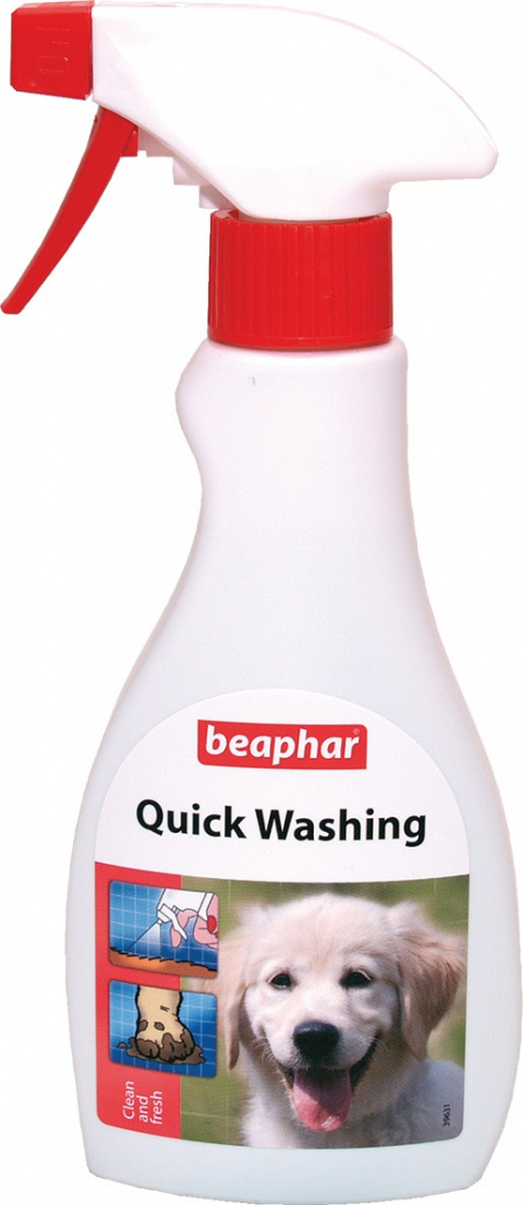 Čistící sprej Beaphar Quick Washing 250 ml title=