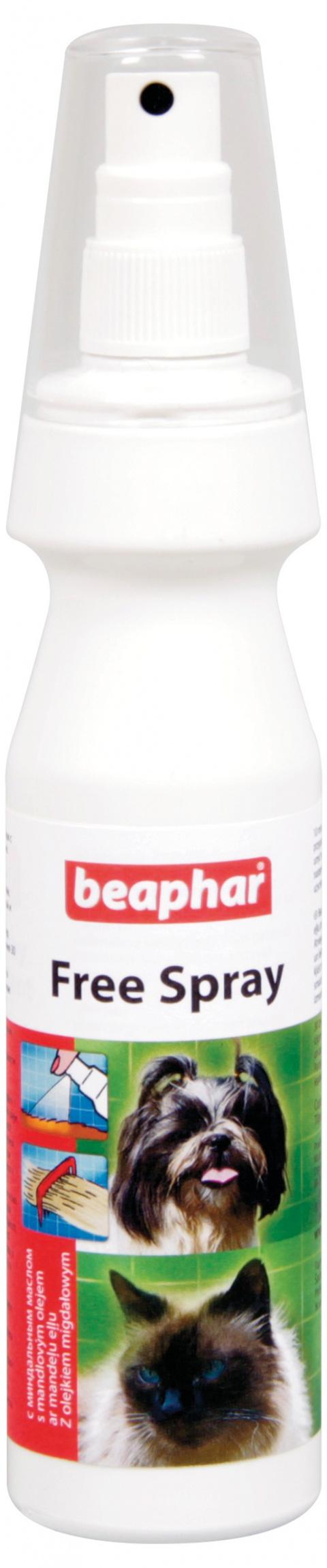 Sprej na rozčesání srsti Beaphar Free 150 ml