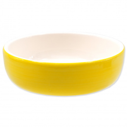 Miska MAGIC CAT keramická žlutá 14,5 cm