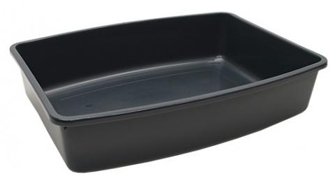 Toaleta SAVIC Jumbo šedá