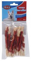 Žvýkací tyčinky pro psy Denta Fun Trixie s kachními prsíčky 12cm*80g 10ks