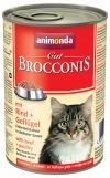 Konzerva ANIMONDA Brocconis hovězí + drůbež 400g