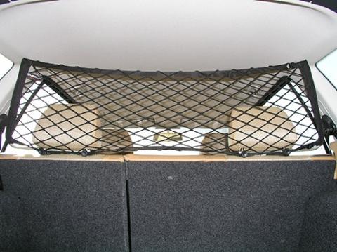 Ochranná síť nad zadní sedadla MIKRA