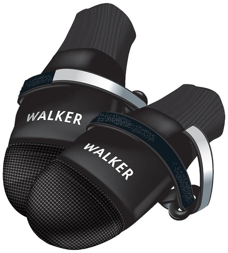 Boty pro psy Trixie Walker Care Comfort černé 2ks L