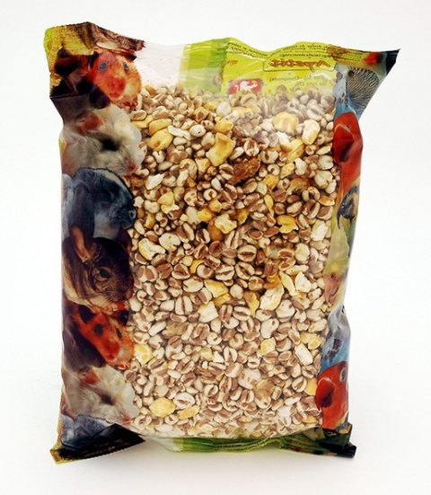 Popcorn APETIT pro hlodavce a velké papoušky 250g