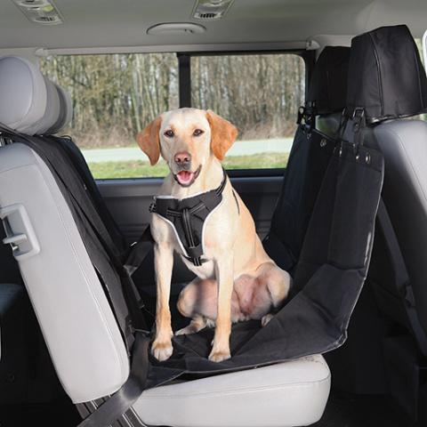 Autopotah zadních sedadel Trixie černá title=